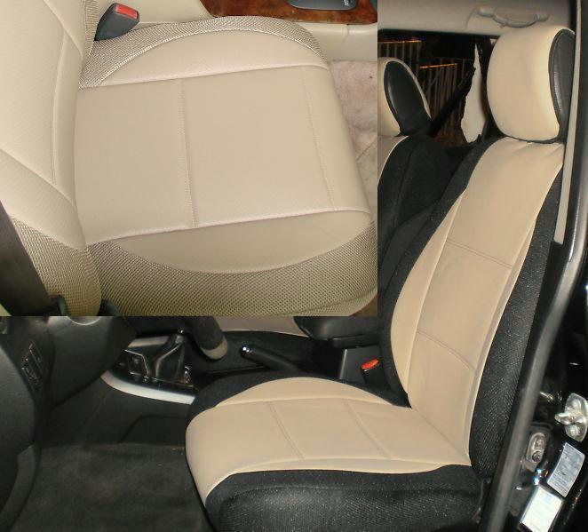 1998 Volvo S90 Exterior: Volvo Tan Leatherette Custom Fit Two Front Car Seat Covers
