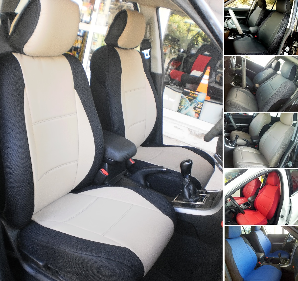 HIGH QUALITY CUSTOM CAR SEAT COVERS FOR TOYOTA RAV4