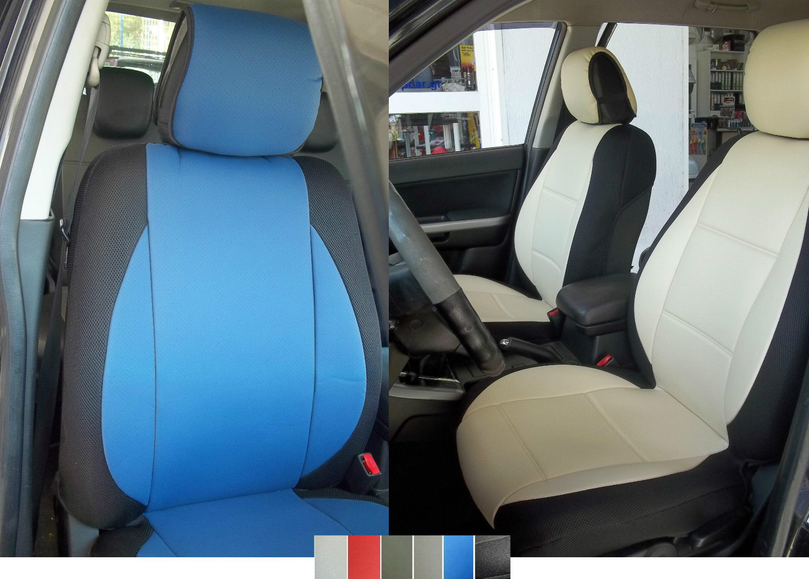 Fits Mazda 3 6 Two Front Leatherette Car Seat Covers