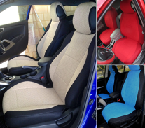 for subaru xv crosstrek high quality two front soft durable car seat covers. Black Bedroom Furniture Sets. Home Design Ideas