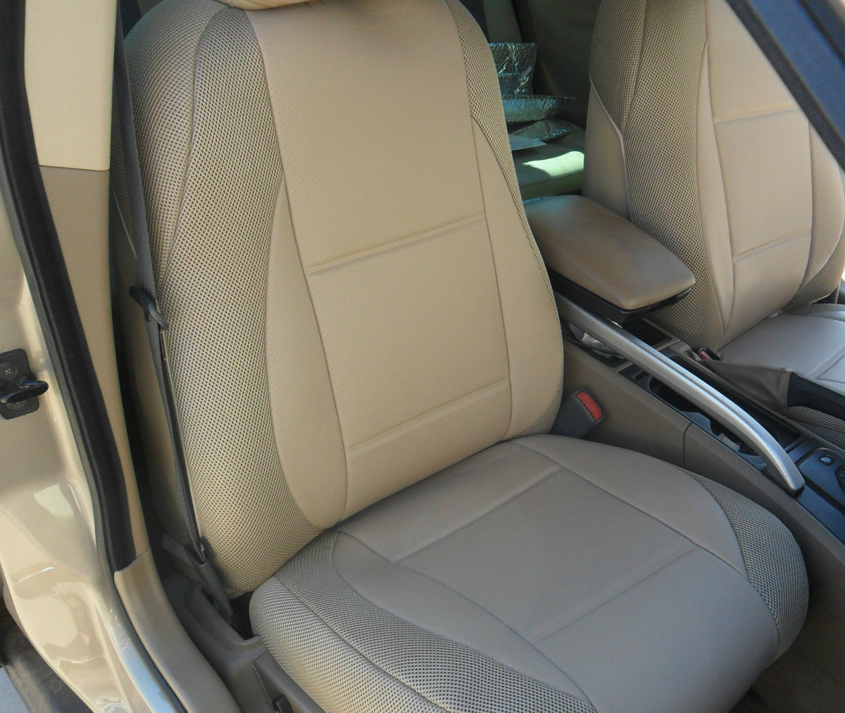 For Audi A4 A6 Q5 Q7 Quattro Leatherette Front Custom Car