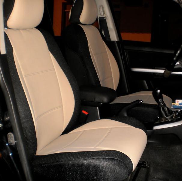 For Audi A4 A6 Q5 Q7 Quattro Leatherette Front Custom Car