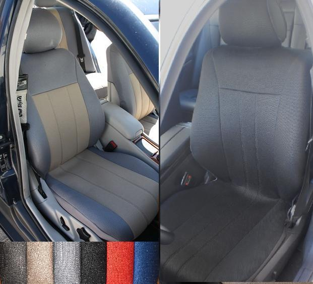 For MERCEDES E CLASS SYNTHETIC 100 CUSTOM FIT FRONT SEAT