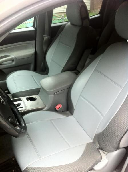for toyota tacoma leatherette custom front seat covers ...