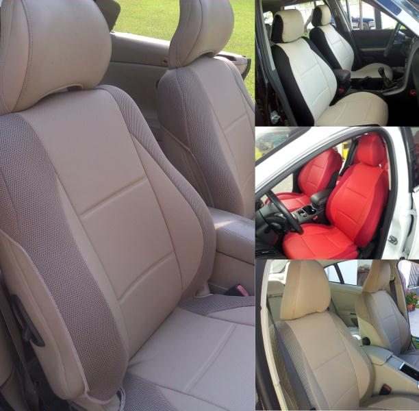 Fits On Volvo Seats Leatherette Custom Front Car Seat Covers