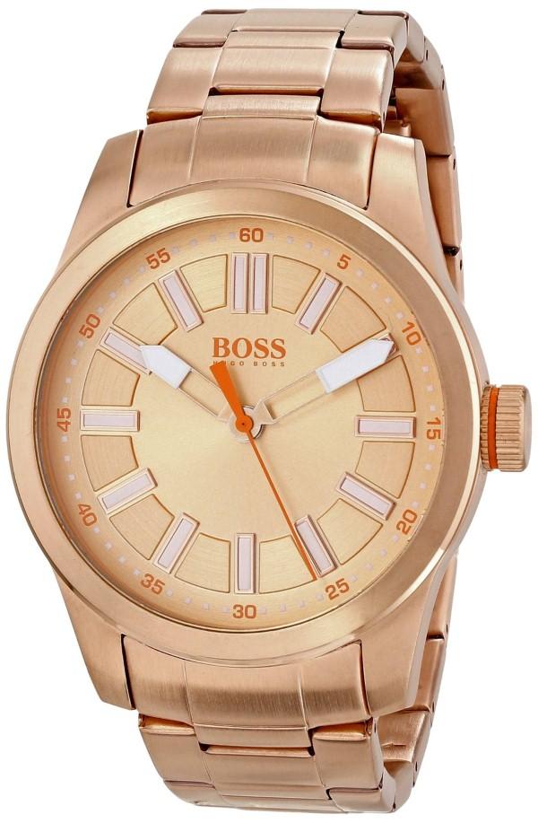 Hugo Boss Orange Men S 1512993 Paris Analog Rose Gold Watch