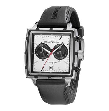 Emporio Armani Sport Chrono Ar0593 Men S Square Dial Watch