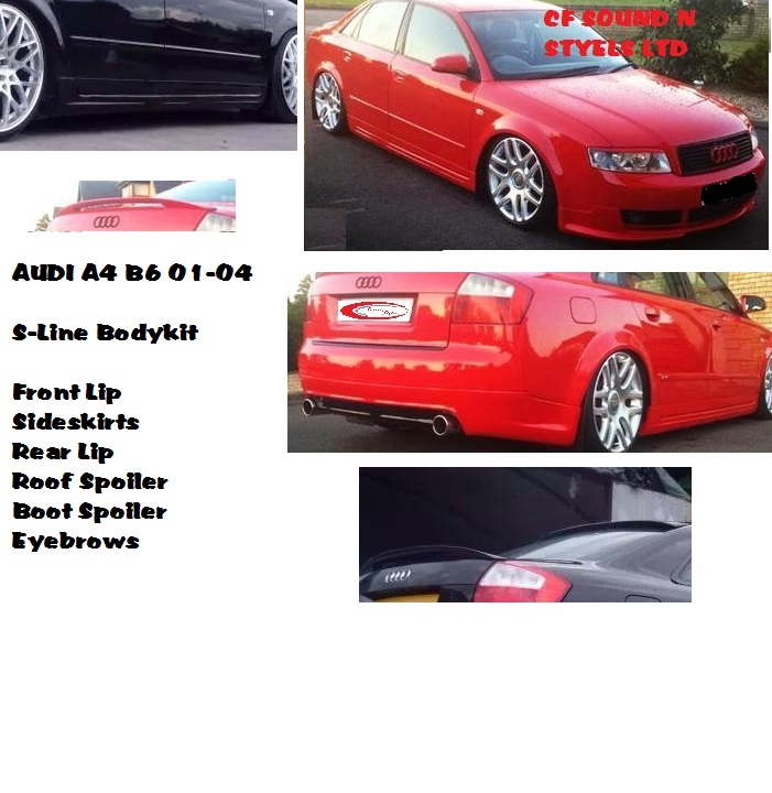 Audi A4 B6 Saloon SE Yrs 01-04, S LINE BodyKit Front Back