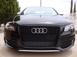 Audi A4 B8 Yrs 08 12 Honeycomb Black Grill