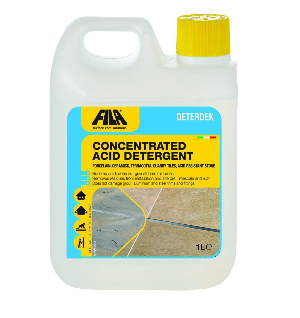 Deterdek Multipurpose Tile And Grout Cleaner Litres - Cleaning agent for tiles