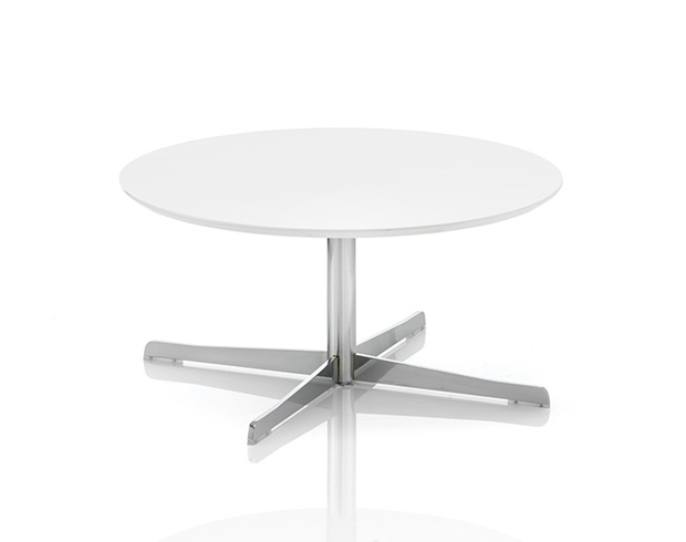 Dishycirc Round Coffee Table With 4 Star Base
