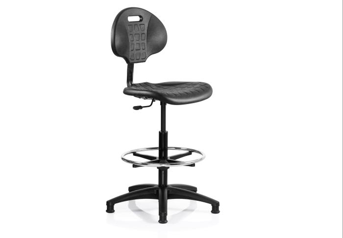 DUBLIN Industrial Technicians Swivel Chair With Footring