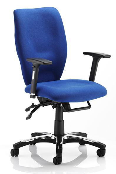 heavy duty square high back task office chair