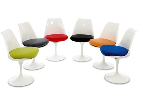 front chair a tulip armchair eero saarinen classic design steelform produkt