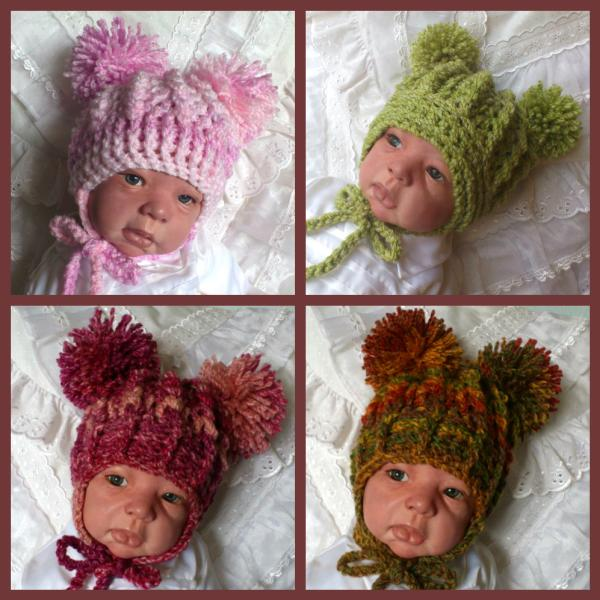 Beuatiful Babys Bonnets Crochet Pattern Hat 41