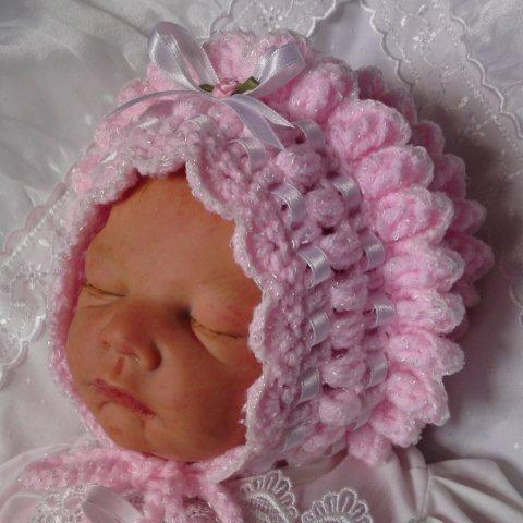 Crochet Bonnet pattern #24