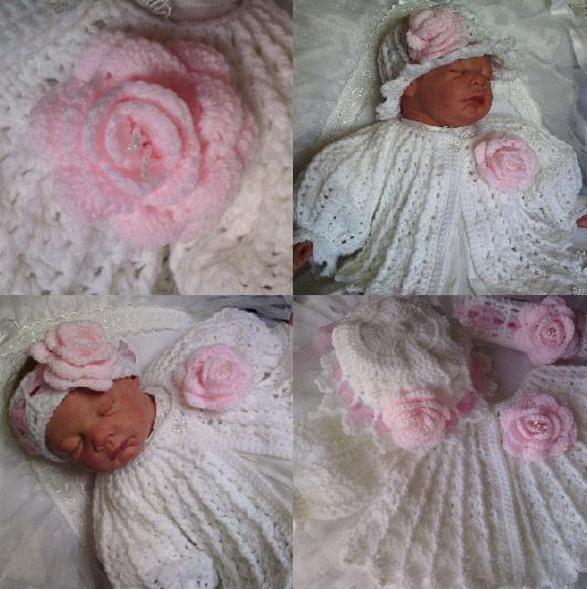 Beautiful-babys-bonnets crochet pattern #25 Matinee Jacket ...