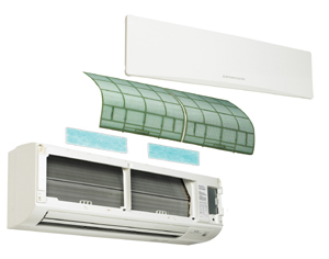 Indoor Filters For Ductless Mini Split Systems