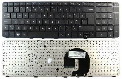Image is loading UK-Layout-Keyboard-Replacement-HP-Pavilion-dv7-1000-