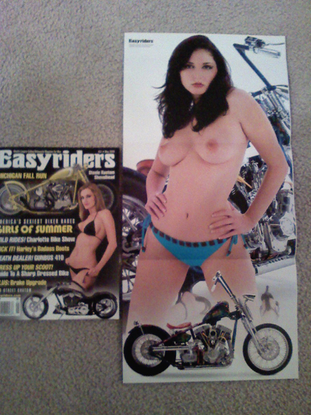 Easy Rider Centerfold Pictures