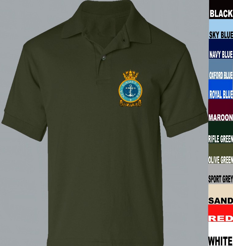 fd87ea53 SCC Sea Cadets Polo Shirt