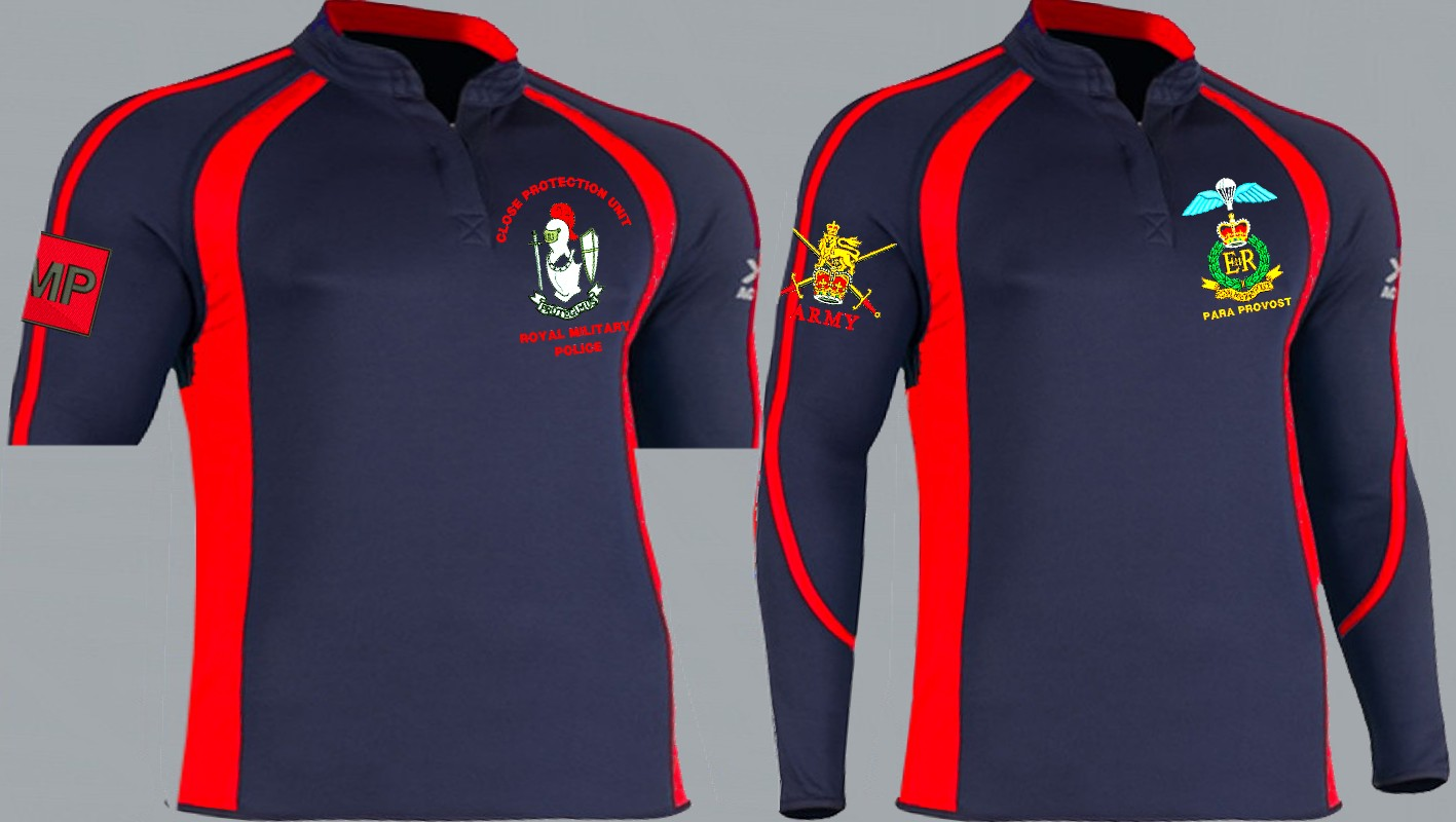 Regimental 2 Colour Kooga Style Rugby Shirt