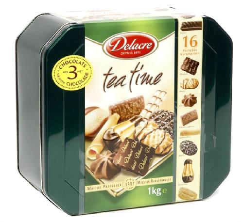 Delacre Tea Time Koekjesmengeling 1 Kg