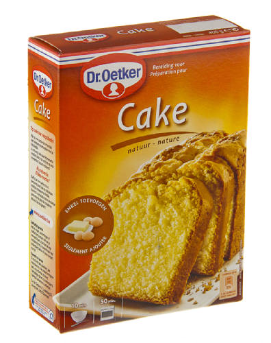 Cake Decorating Dr Oetker : DR.OETKER mix voor cake, cakemix - 400 gr.
