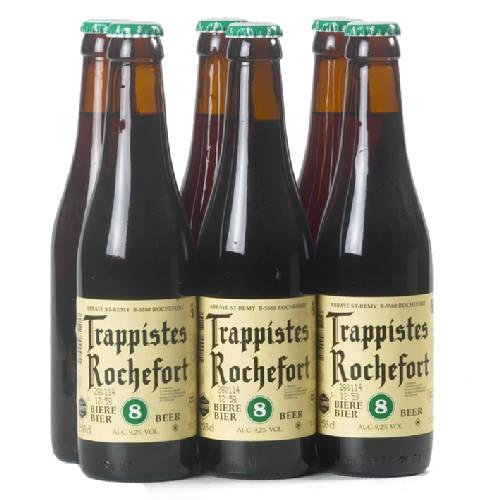 ROCHEFORT '8' trappist 9,2 % vol - 6x33 cl.