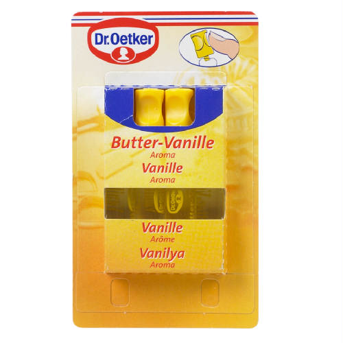 dr oetker aroma vanille vanilla 4 x 2 ml. Black Bedroom Furniture Sets. Home Design Ideas