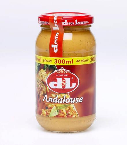 Devos Lemmens Andalouse Sauce Saus 300 Ml Net