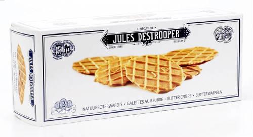 Jules Destrooper Butter Crisps Natuurboterwafels