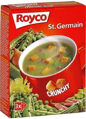 royco minute instant soup crunchy st germain 3 bags zakjes
