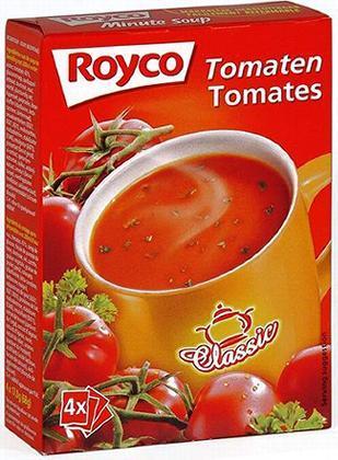 royco minute instant soup classic tomatestomatoestomaten 4