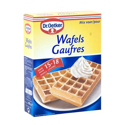 dr oetker waffles mix wafelmix mix pour gaufres 400 gr. Black Bedroom Furniture Sets. Home Design Ideas
