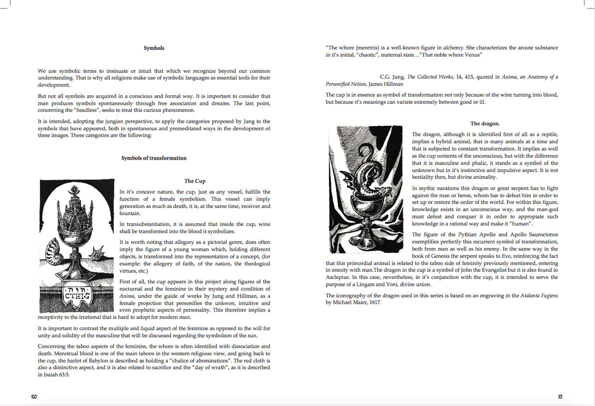 Anatomy of the sacred chapter summaries