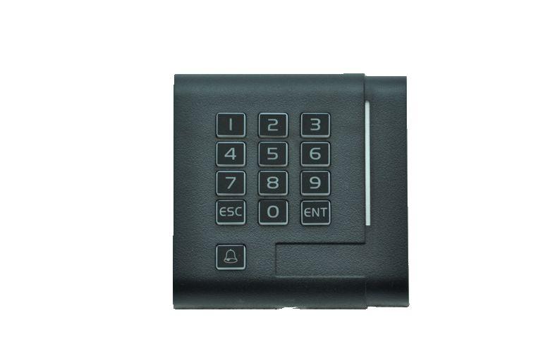 SMART / DUAL TECHNOLOGY / NFC - DOOR READER + PIN - 13.56MHZ  sc 1 st  mtecc ltd & MPROX MIFARE CARD \u0026 PIN DOOR READER