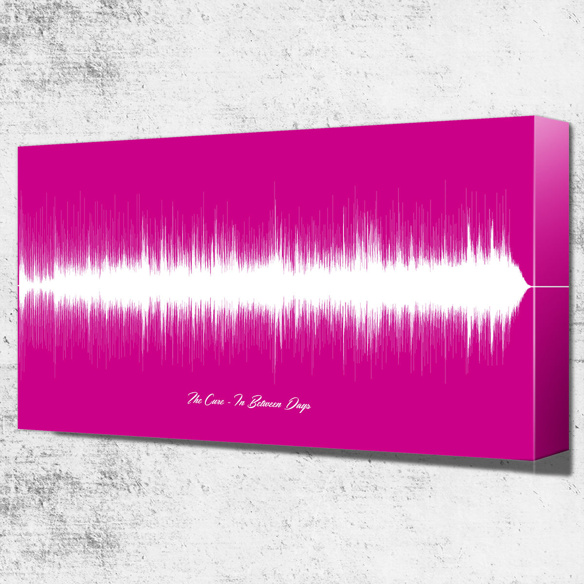 canvas song sound wave art