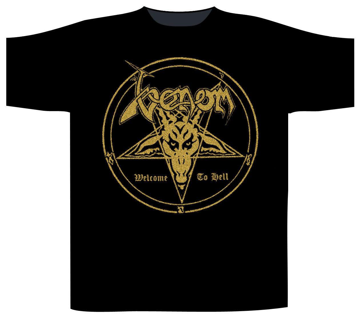 Kleidung & Accessoires Welcome To Hell T-shirt Venom
