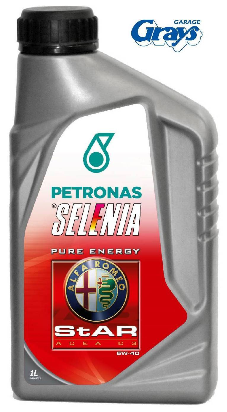 Alfa romeo engine oil selenia star pure energy 5w 40 for 5 star energy