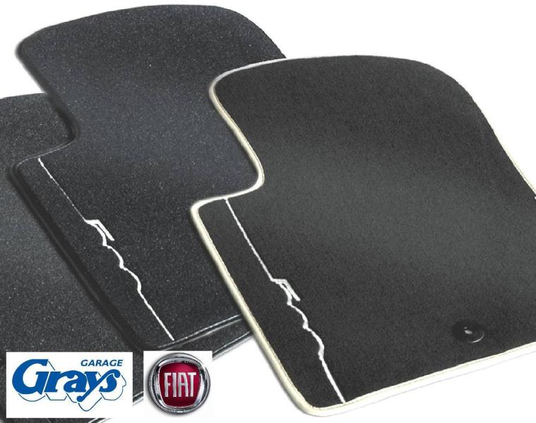 Fiat 500 Carpet Met Set Fiat 500 Mat Set Carpet Mat