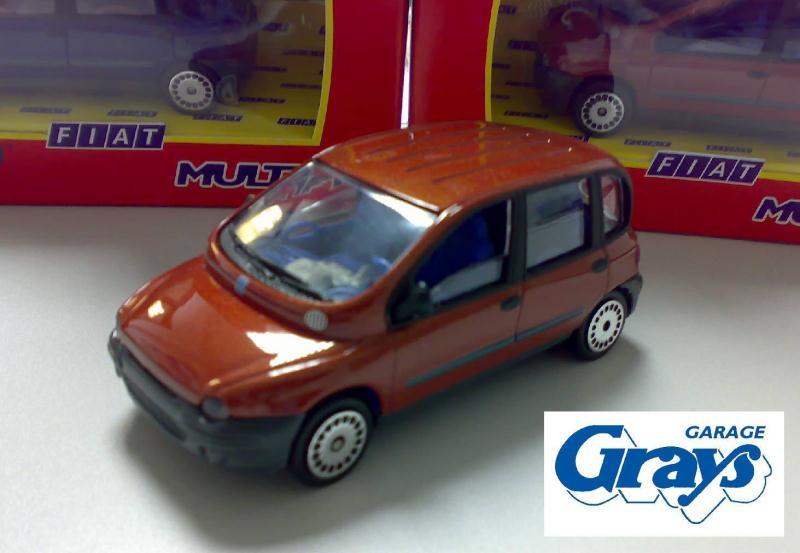 Fiat Multipla Model Car 1 43 Scale Fiat Multipla Toy Car