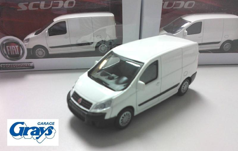 Fiat Scudo Van Model 1 43 Scale Fiat Toys Fiat Model