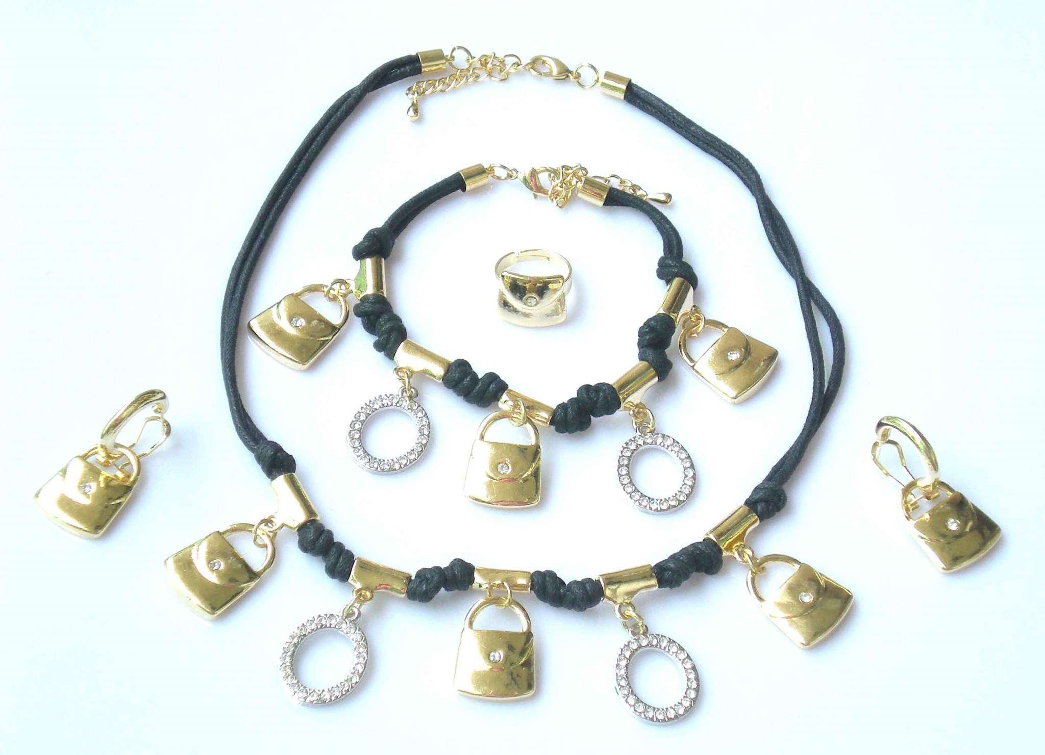gallery lyst kaleidoscope all necklace normal jewelry gold metallic adriana in orsini product around