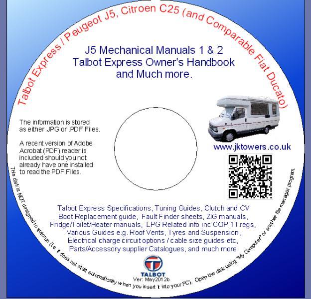 cd dvd of manuals and more rh jktowers co uk Peugeot J5 Long Frame Peugeot J5 Police