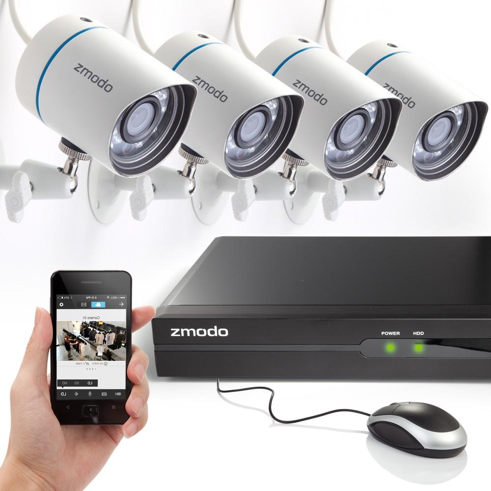 how to set up zmodo camera