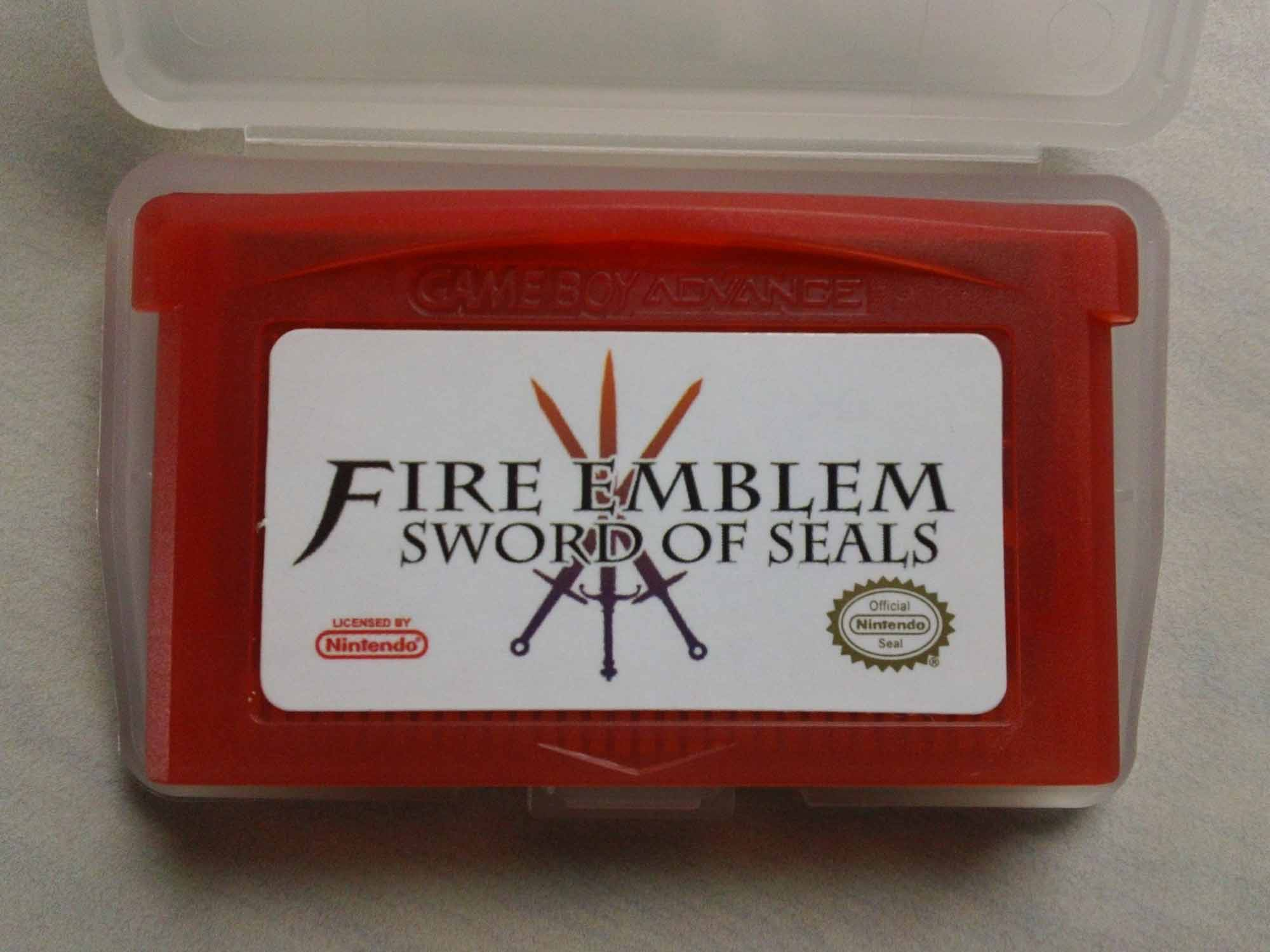 Gameboy color and advance rpg games - Fire Emblem Sword Of Seals