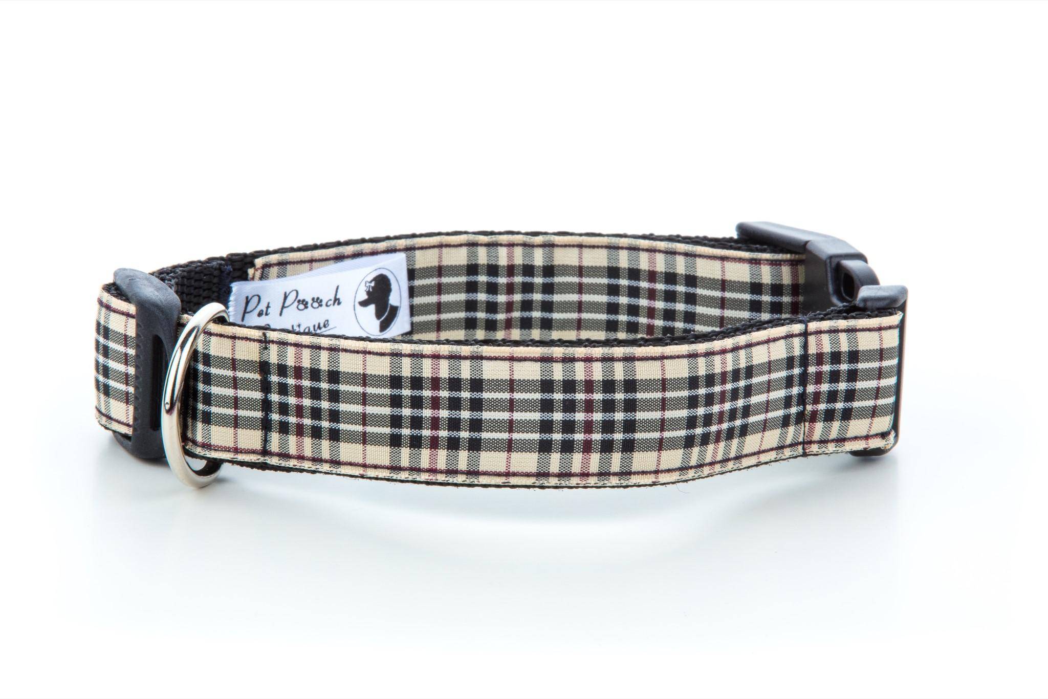Burberry Dog Collars For Sale