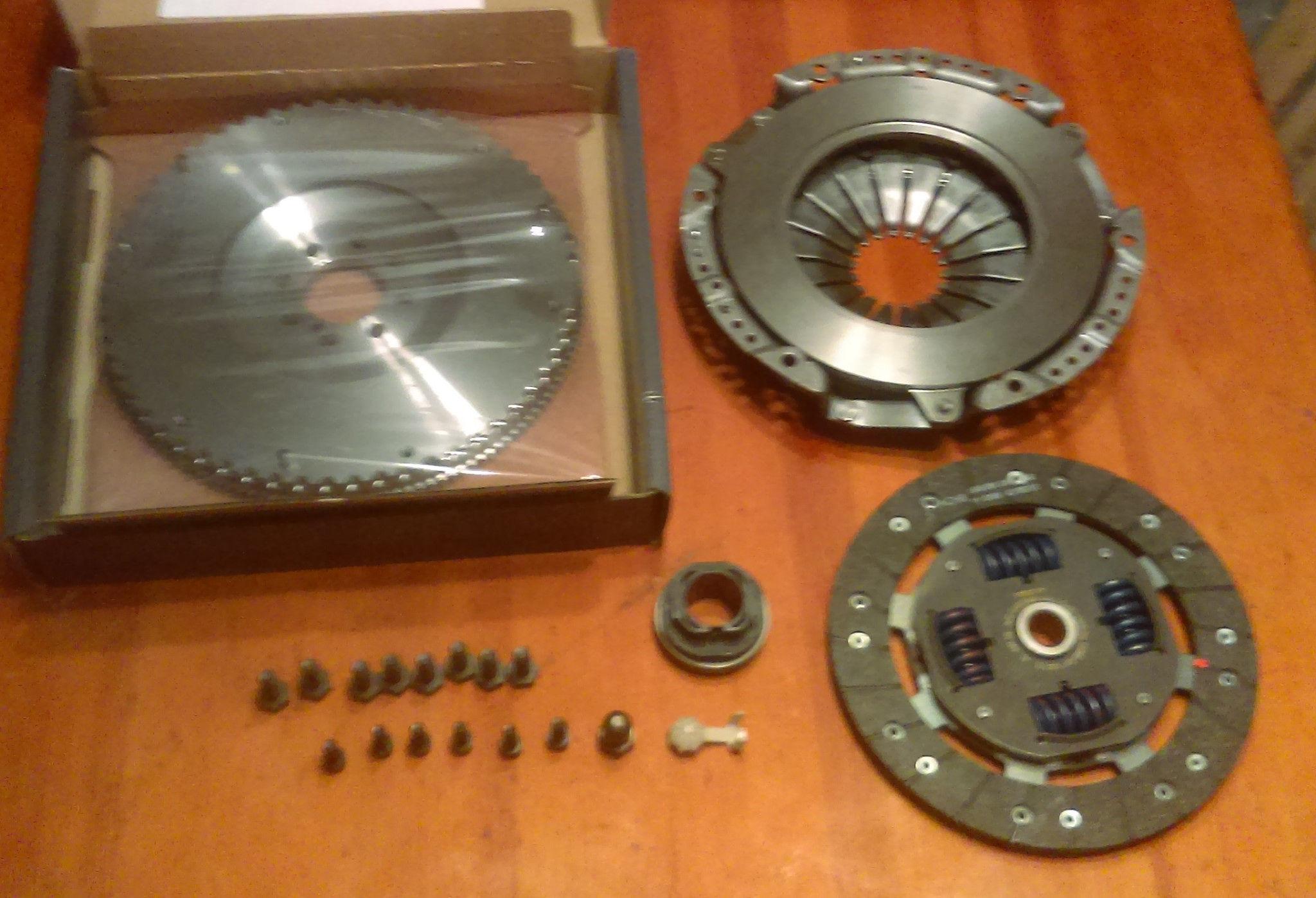 B230 DMF Flywheel conversion kit with clutch