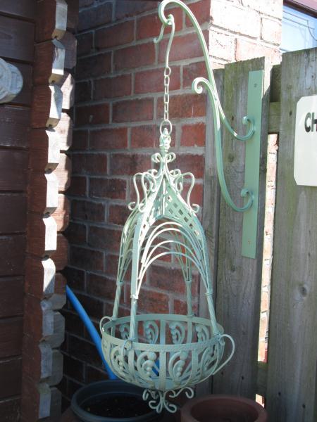 Large Ornate Hanging Basket